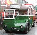 London Transport bus CR16 (FXT 122), Brooklands Museum, 19 May 2013.jpg