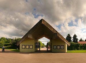Tallinn Zoo - Zoo entrance