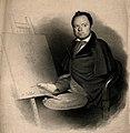 Louis-César-Joseph Ducornet, an artist born without arms. Li Wellcome V0007069.jpg
