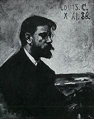 Porträt des Malers Heinrich Fricke