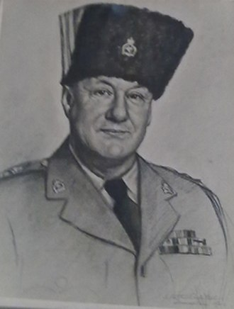 Chief of the Defence Staff (Ghana) - Image: Lt Col Paley Transjordania Leo Arthur Robitschek