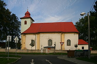 Luboměř - Saint Lawrence church