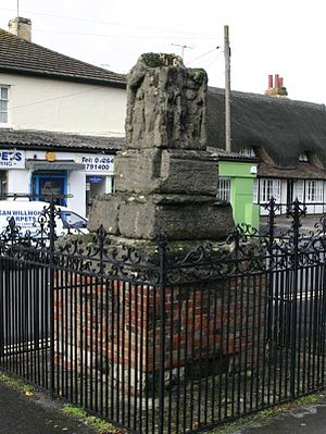 Ludgershall, Wiltshire - The preaching cross in Ludgershall