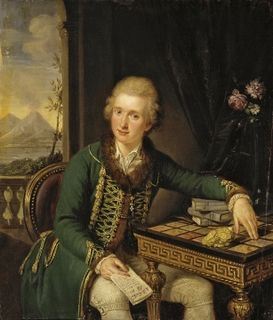 Michael Johann von der Borch Polish naturalist