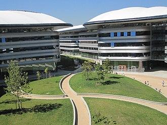 University of Turin Department of Law - Luigi Einaudi Campus - buildings and gardens