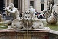 Luigi amici, tritoni e mascheroni della fontana del moro, copia da giacomo della porta, 1874, 13.jpg