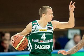 Lukas Lekavičius Lithuanian basketball player