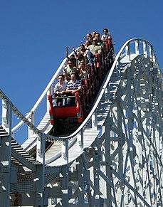 Roller coaster ride developed for amusement parks