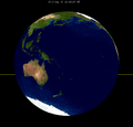 Lunar eclipse from moon-1913Sep15.png