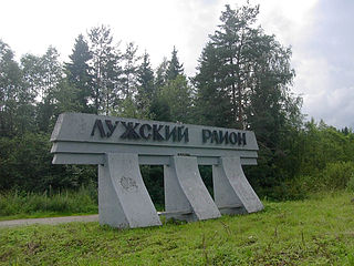 Luzhsky District District in Leningrad Oblast, Russia