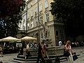 Lwów , Polish , Lviv , Львов - Rynek - Fontanna Neptuna - panoramio.jpg