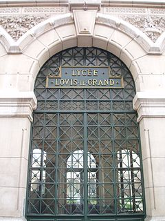 Lycée Louis-le-Grand French school in the heart of the Quartier latin in Paris, France