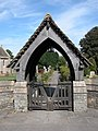 Lych gate to Compton Greenfield church - geograph.org.uk - 239053.jpg