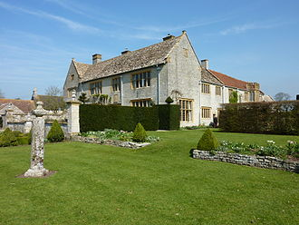 Lytes Cary - Rear of the house