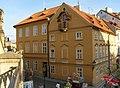 Měšťanský dům U sloupu Panny Marie (Malá Strana), Praha 1, Na Kampě 9, Malá Strana.JPG