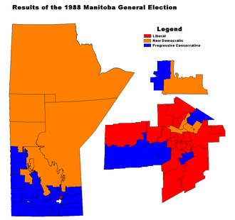 Manitoba general election, 1988 - Image: MB1988