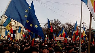 2015–16 protests in Moldova - Protests in the wake of 2016 political crisis