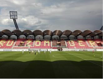 Štadión pod Čebraťom - Image: MFK Ruzomberok