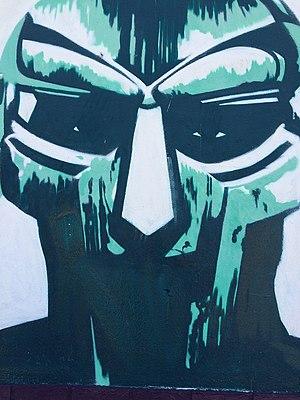 Madvillainy - Graffiti of DOOM from Madvillainy cover in Little Haiti, Miami, Florida