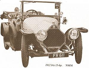 Willesden - Iris 15 HP (1912)