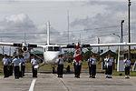 MINISTRO VALAKIVI ENTREGÓ MODERNA FLOTA DE 12 AERONAVES CANADIENSES TWIN OTTER DHC-6 SERIE 400 A LA FUERZA AÉREA DEL PERÚ (19403474280).jpg