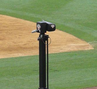 "MLB Network - An MLB Network ""ballpark cam"" at Yankee Stadium."
