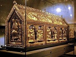 De Noodkist in de schatkamer van de Sint-Servaasbasiliek