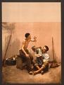 Macaroni seller, Naples, Italy-LCCN2001700912.tif