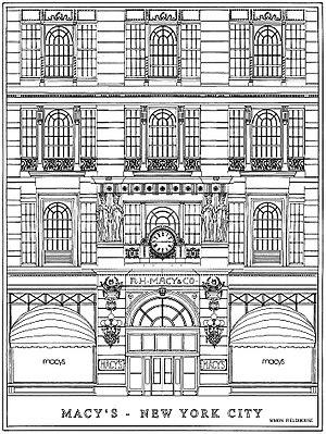 Macy's Herald Square - Macy's entrance