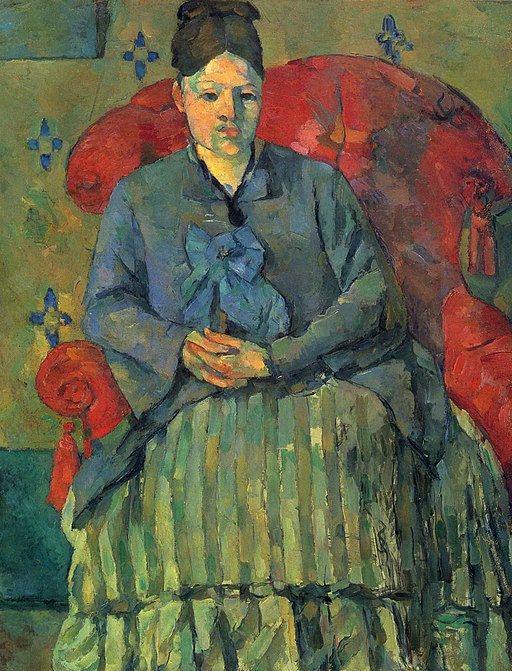 """Madame Cézanne in a Red Armchair"" by Paul Cézanne"