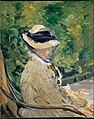 Madame Manet (Suzanne Leenhoff, 1830–1906) at Bellevue MET DT4224.jpg