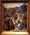 Maestro della raccolta della manna, guarigione del cieco di gerico, 1475 ca.jpg