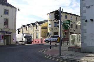 Maghera town in County Londonderry, Northern Ireland