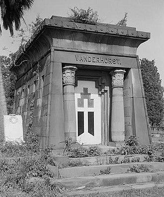Magnolia Cemetery (Charleston, South Carolina) - Vanderhorst Mausoleum