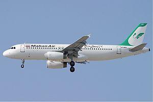 Mahan Air - Former Mahan Air Airbus A320-200