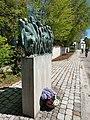 Mahnmal Todesmarsch KZ Dachau in Krailling Gautinger Straße Frontansicht 01.jpg