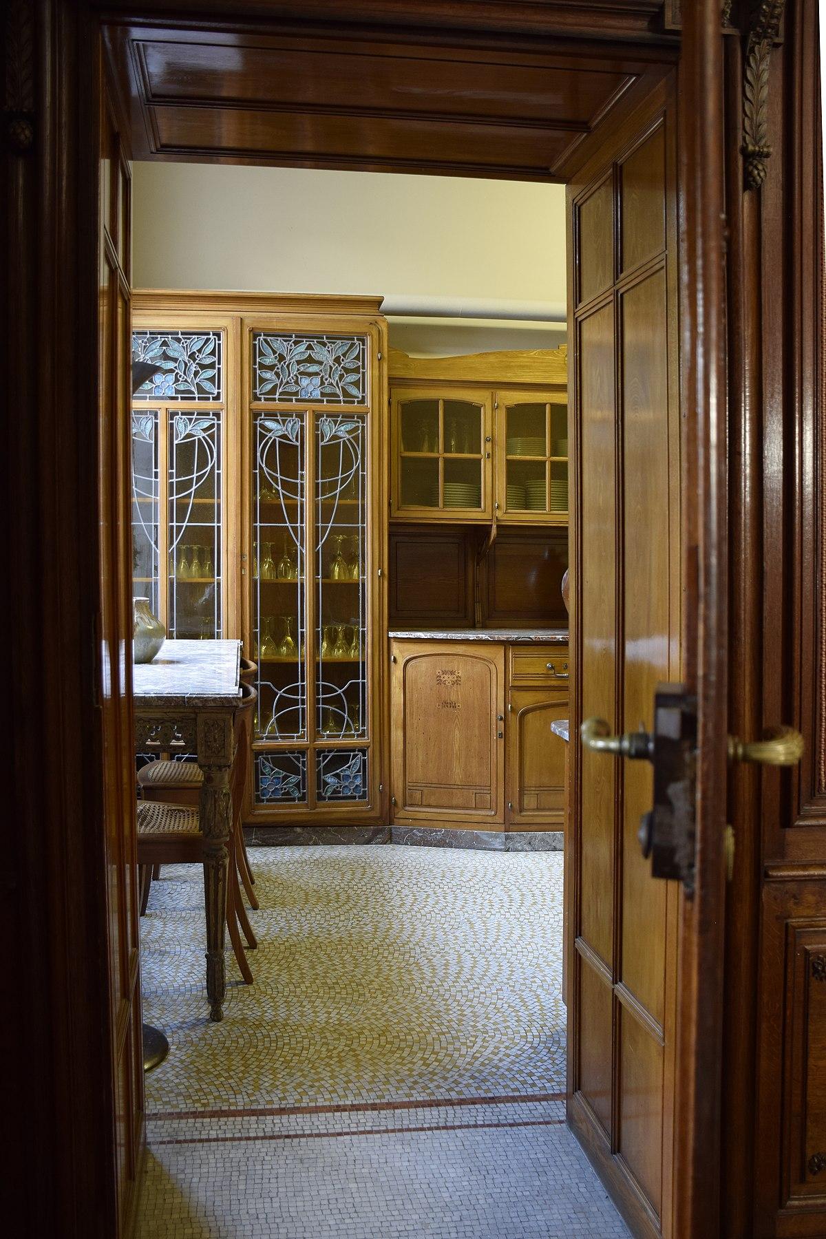 Maison De La Salle file:maison leon losseau - cuisine - vue depuis la salle a