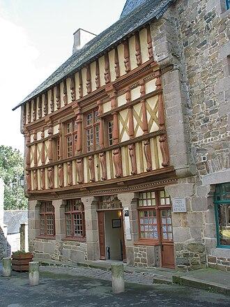Ernest Renan - Ernest Renan birthplace museum in Tréguier