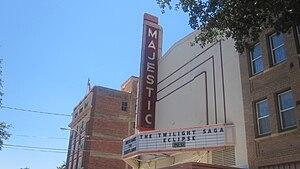 Eastland, Texas - Image: Majestic Theatre, Eastland, TX IMG 6432
