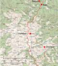 Makalu Fransız yaklaşma rotası 1954 ve 1955 bölüm 2.png