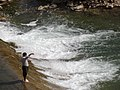 Man Fishes in River - En route to Orumanat - Western Iran (7421964984).jpg
