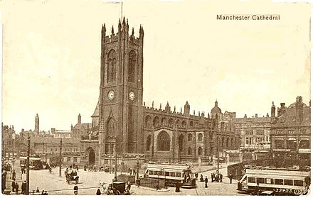 Manchester Cathedral in 1903 Manchester Cathedral, 1903.jpg