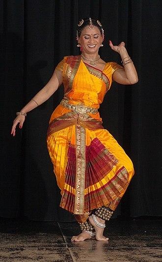 Bharatanatyam - A Bharatanatyam pose