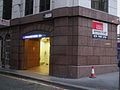 Mansion House stn entrance south.JPG