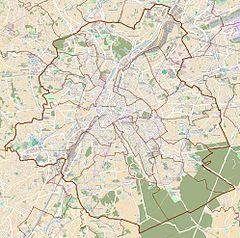 Brussels-South is located in Brussels