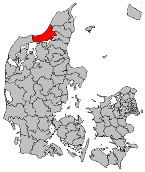 Jammerbugt Municipality - Location of Jammerbugt municipality