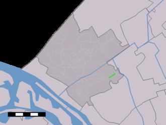 Oostbuurt - Image: Map NL Westland Oostbuurt