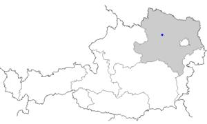 Grafenegg - Image: Map at dürnstein