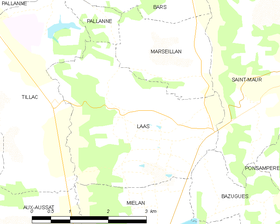 Map commune FR insee code 32167.png