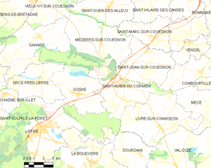 Map commune FR insee code 35253.png